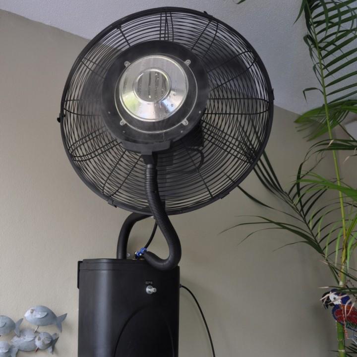 wall mount misting fan Climate Australia