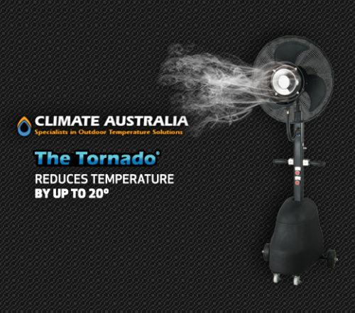 Climate Australia Portable Misting Fan